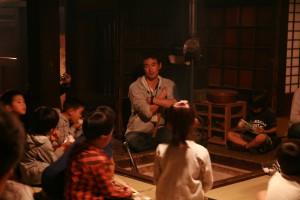 囲炉裏端でのお話会@江戸東京たてもの園