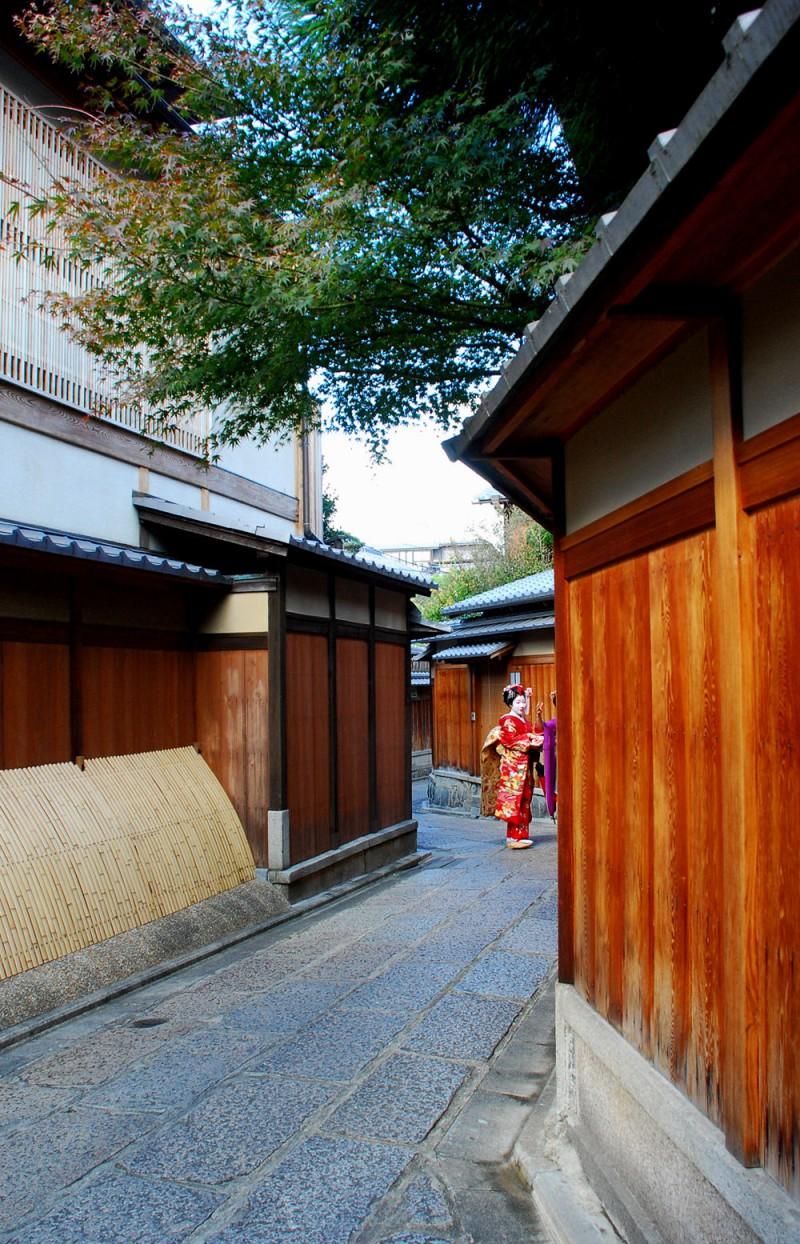 Alleyway in Kyoto