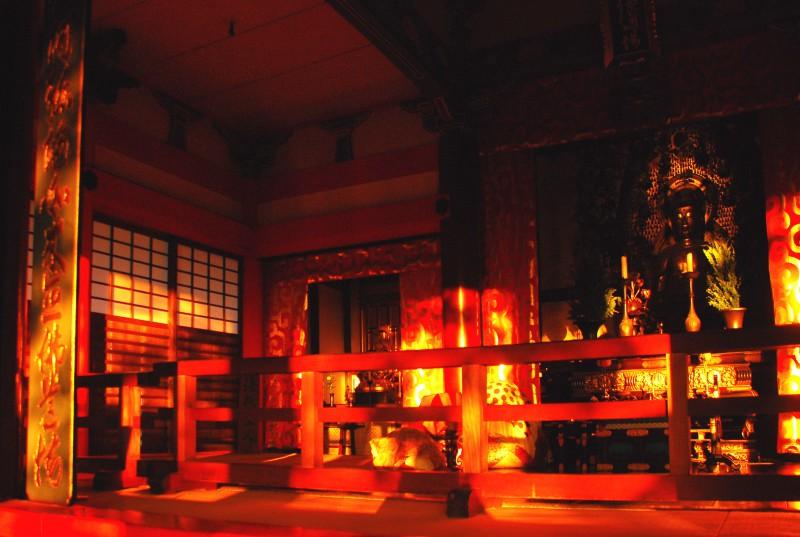 Dusk at Kiyomizu Temple, Kyoto