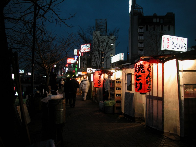 Food Stalls in Fukuoka