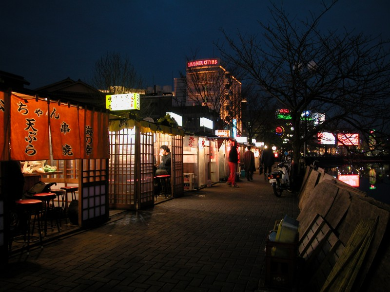 Food Stalls in Fukuoka