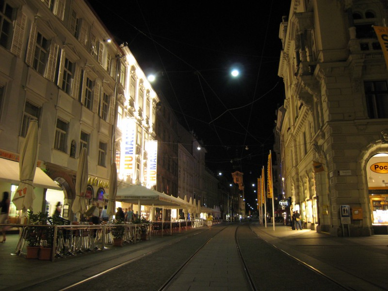 Graz downtown