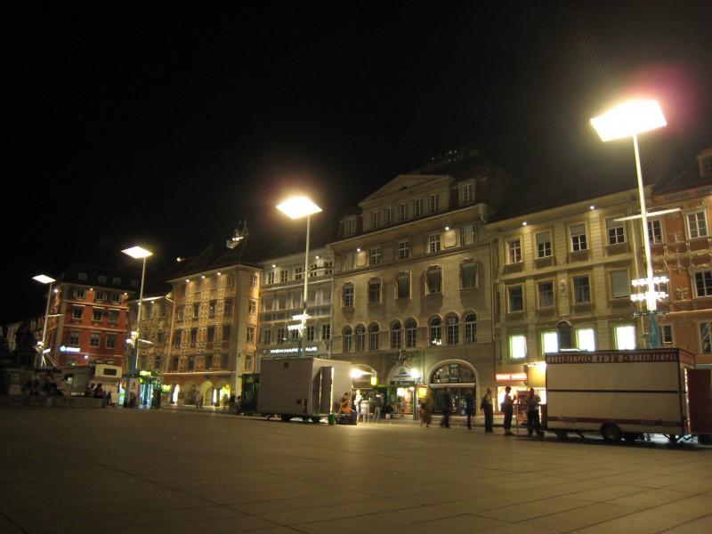 Graz downtown