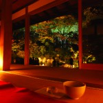 Lighting-in-the-tea-room-of-Shorenin-Temple-Kyoto
