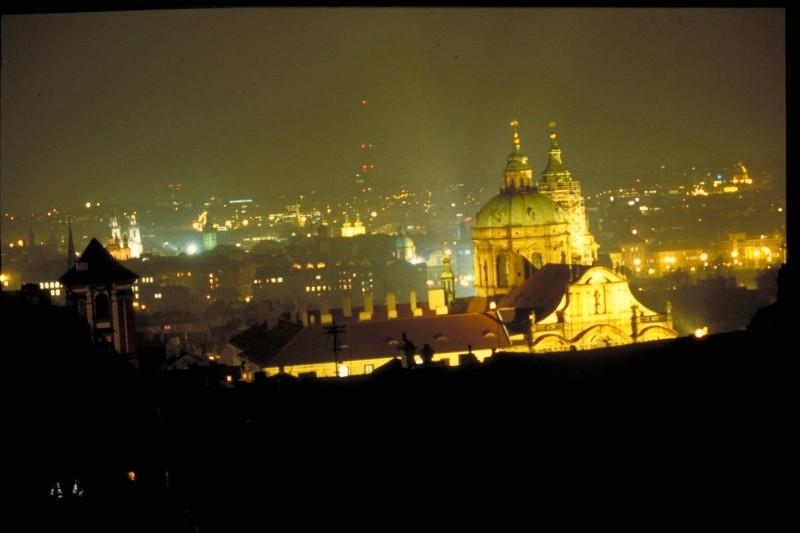 Prague downtown
