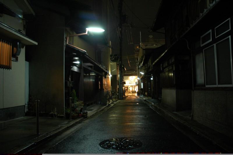 Residential alleyway in Kyoto