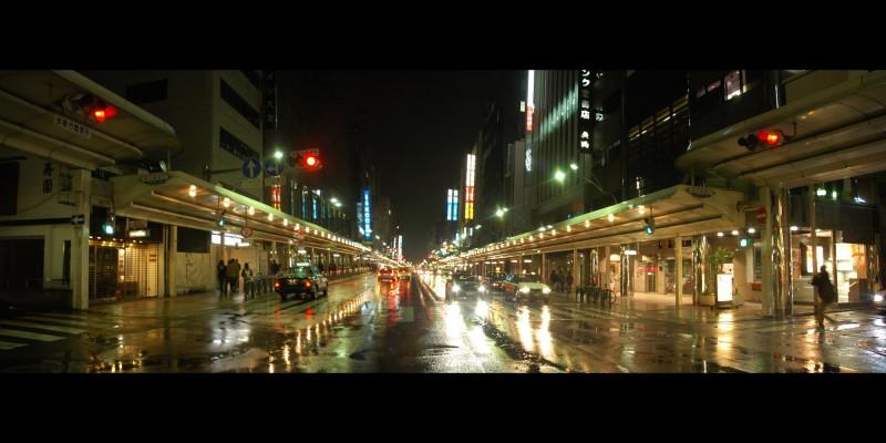 Shijo Street in Kyoto