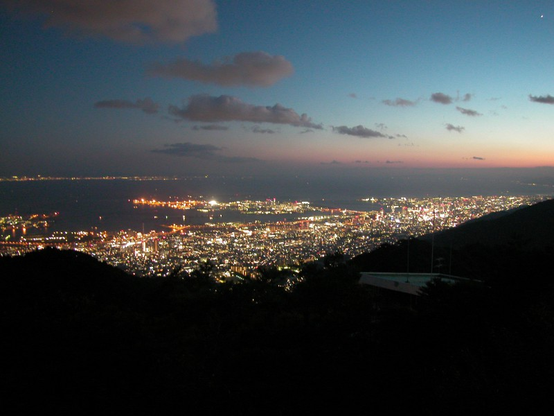 View from Mt. Rokko