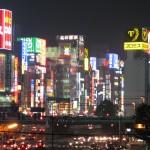 Mega city, Shinjuku