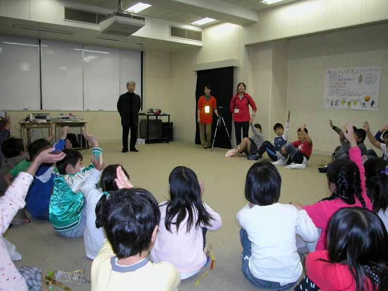 children's workshop:Experiencing Light & Dark