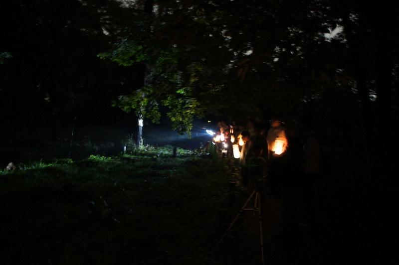 こどもワークショップ:暗さ体験&ライトアップニンジャJr.