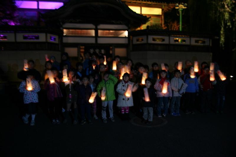 こどもワークショップ:江戸東京たてもの園 行灯作り&暗さ体験