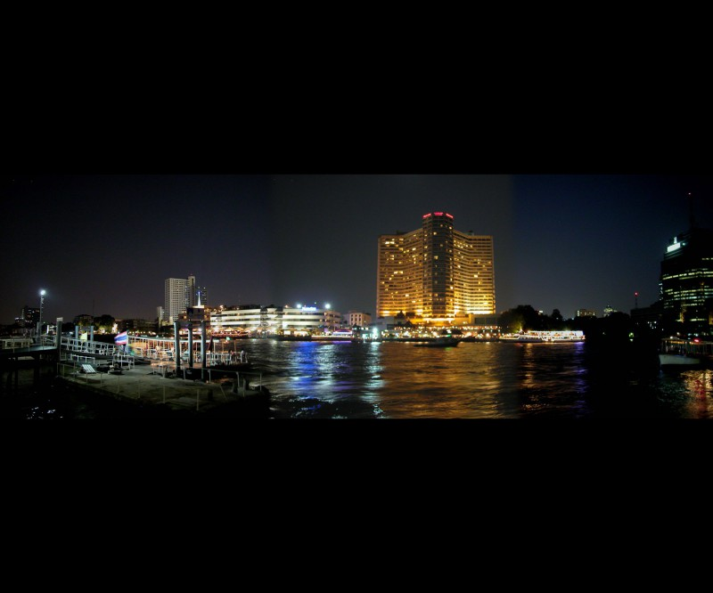 Bangkok waterfront