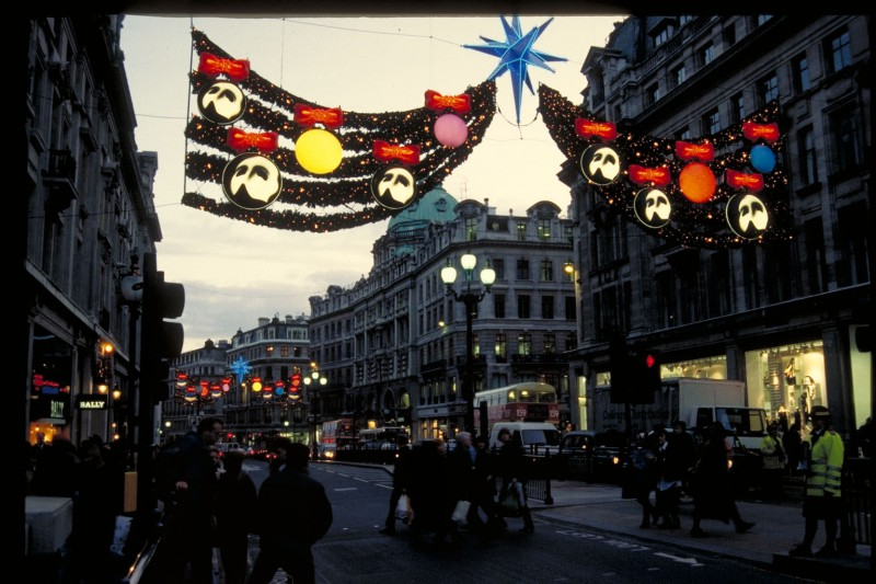 Christmas Illumination in London