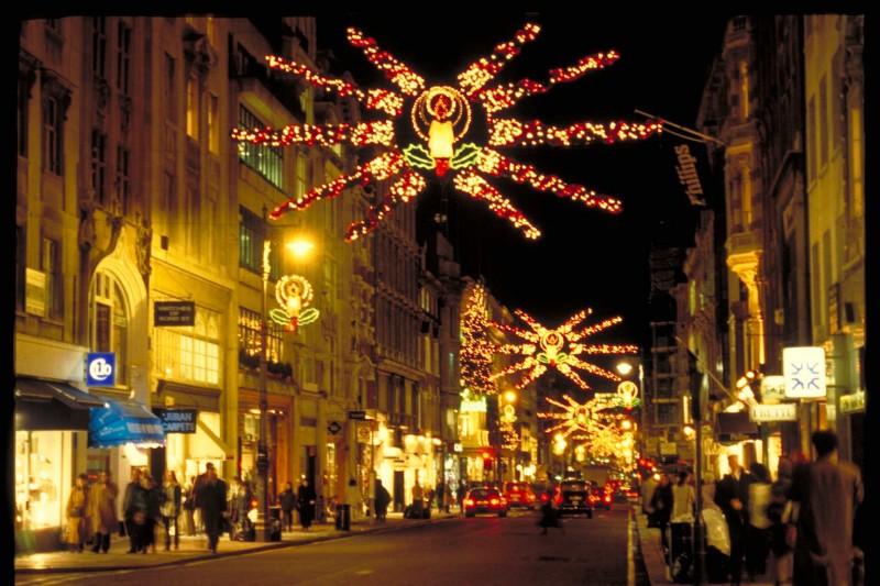 Christmas Illumination in London