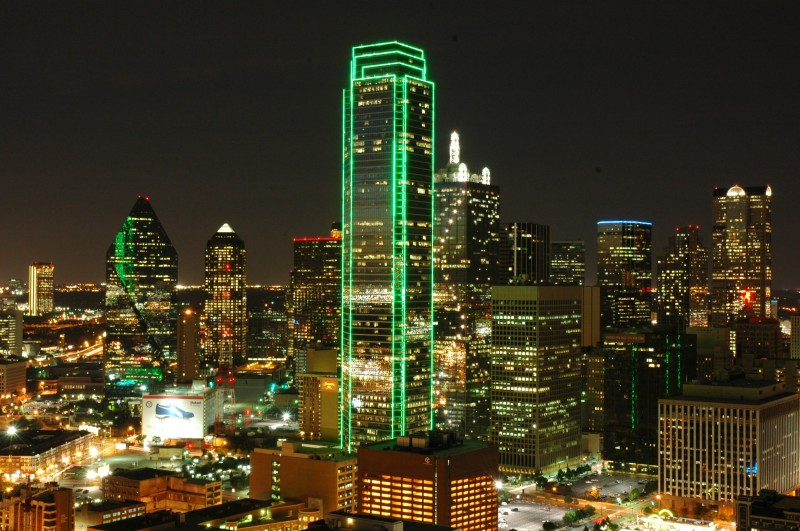 Dallas from Bank of America Plaza