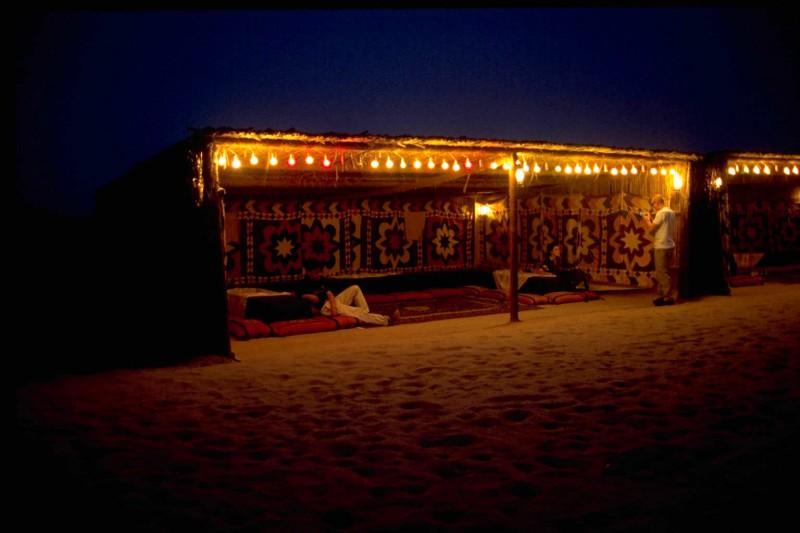 Event in the desert near Dubai