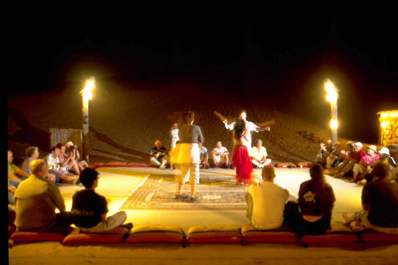 Event in the desert near Dubai