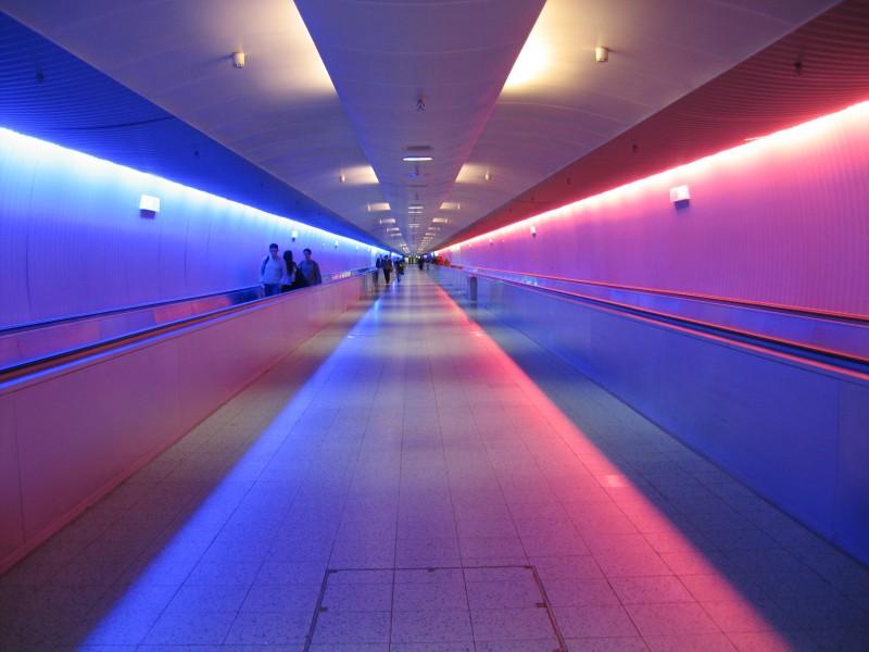 Frankfult AirportUnderground Concourse