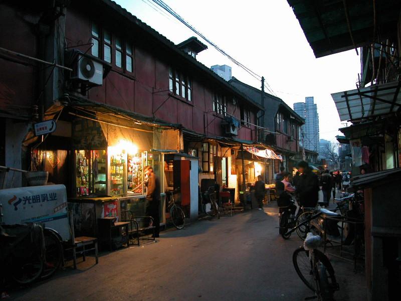 Guang qi Road in Shanghai