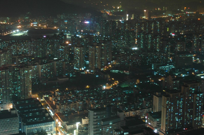 High-rise apartment buildings in Guangzhou
