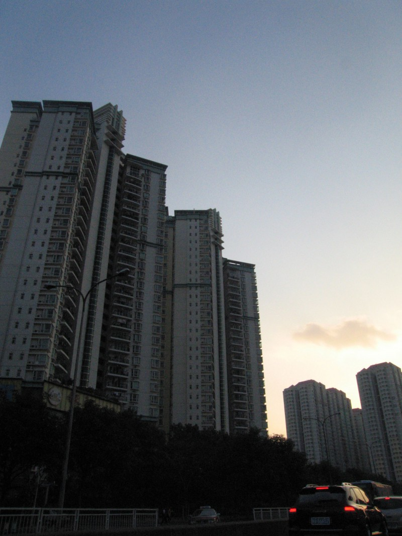High-rise apartment buildings in Shenzhen