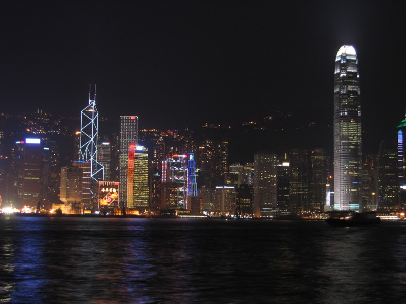 Hong Kong Million Dollar Nightscape
