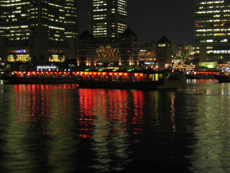 House Boats in Yokohama Bay