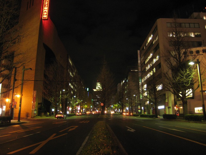 Icyo Street in downtown Sendai