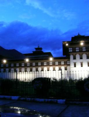 Illumination-of-Trashichhoe-Dzong