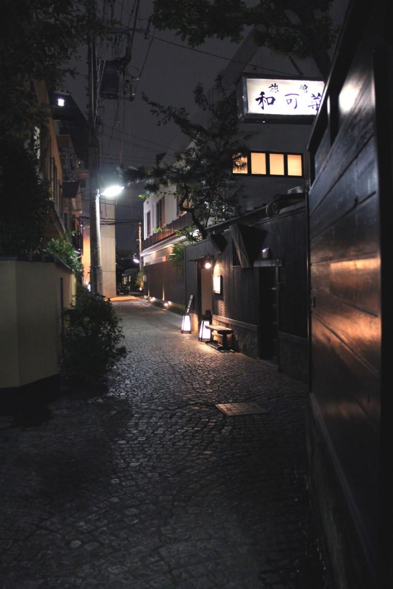 Kagurazaka alleyways, Tokyo