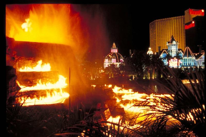 Las Vegas Fire Show