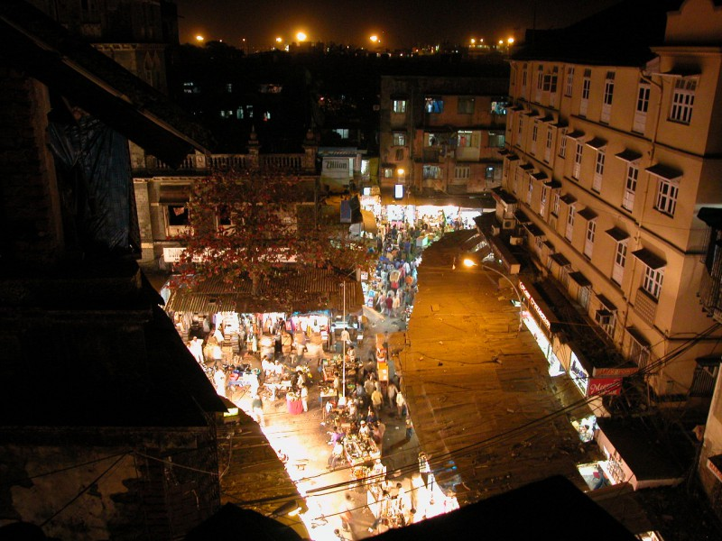 Night Market in Mumbai
