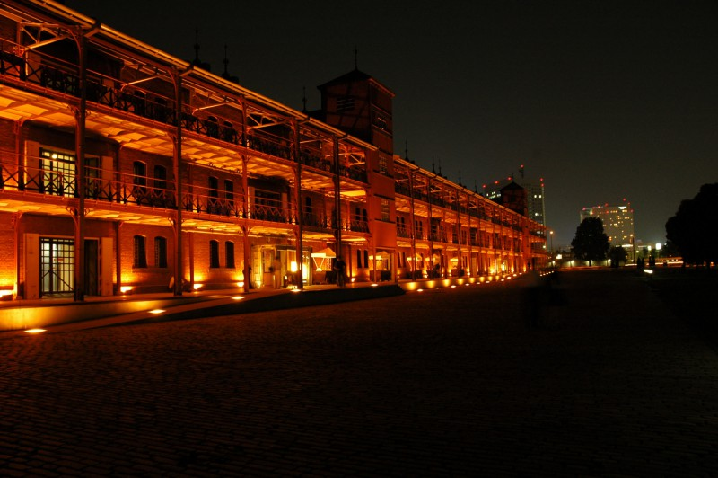 Old Red Brick Warehouse