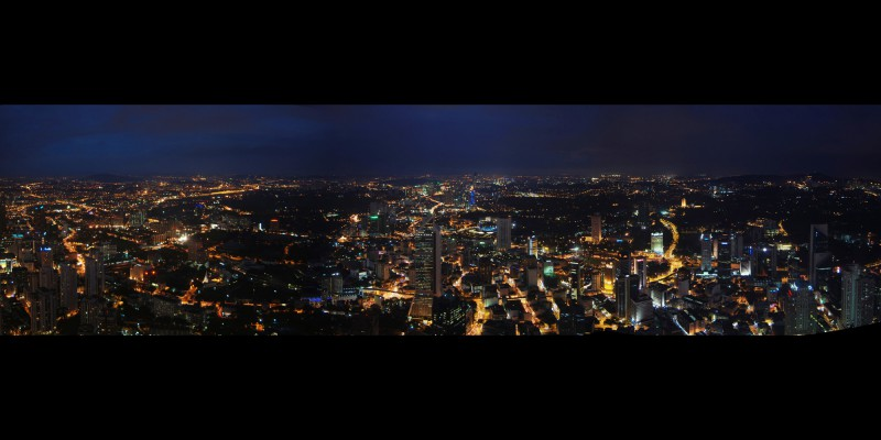 Panarama from KL Tower