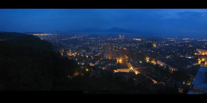 Panarama of Ljubljana
