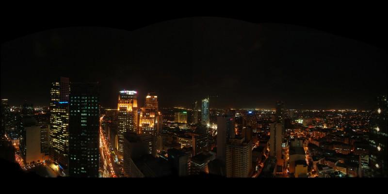 Panarama of Manila