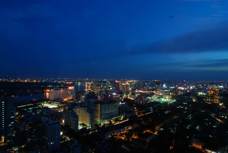 Panaramic View of Ho Chi Minh