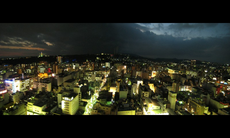 Panoramic View of Sendai from the Dai-ichi Seimei Tower Building