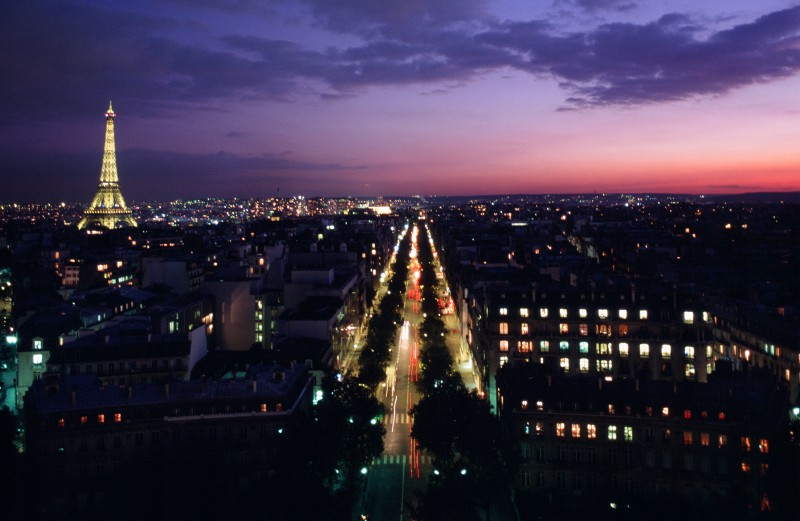 Paris from above