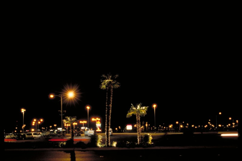 Parklot Lights in Las Vegas