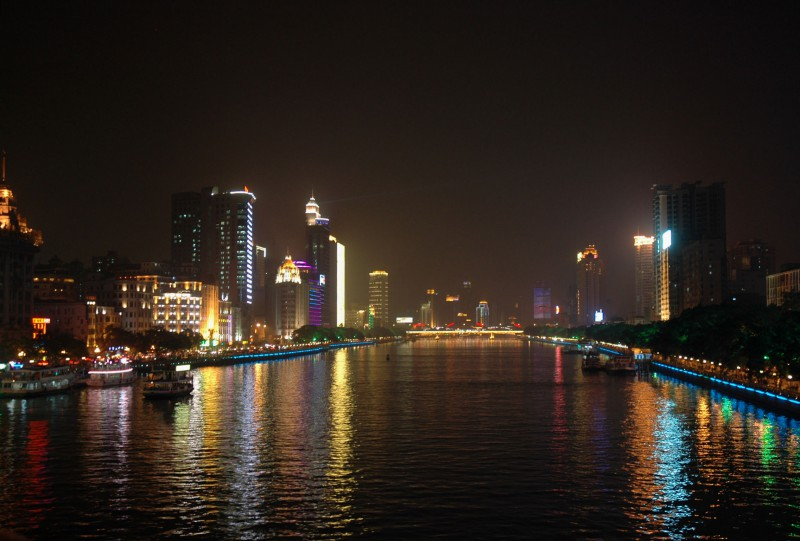 Pearl River in Guangzhou