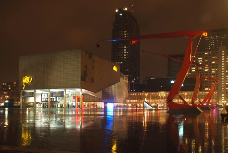 Plaza Lighting in Rotterdam