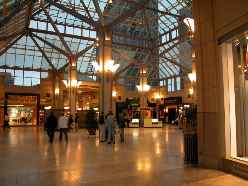 Prudential Tower Arcade