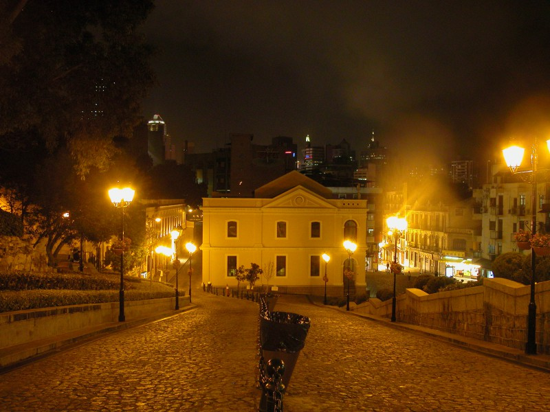 Ruinas da Antiga Catedral de Sao Paulo