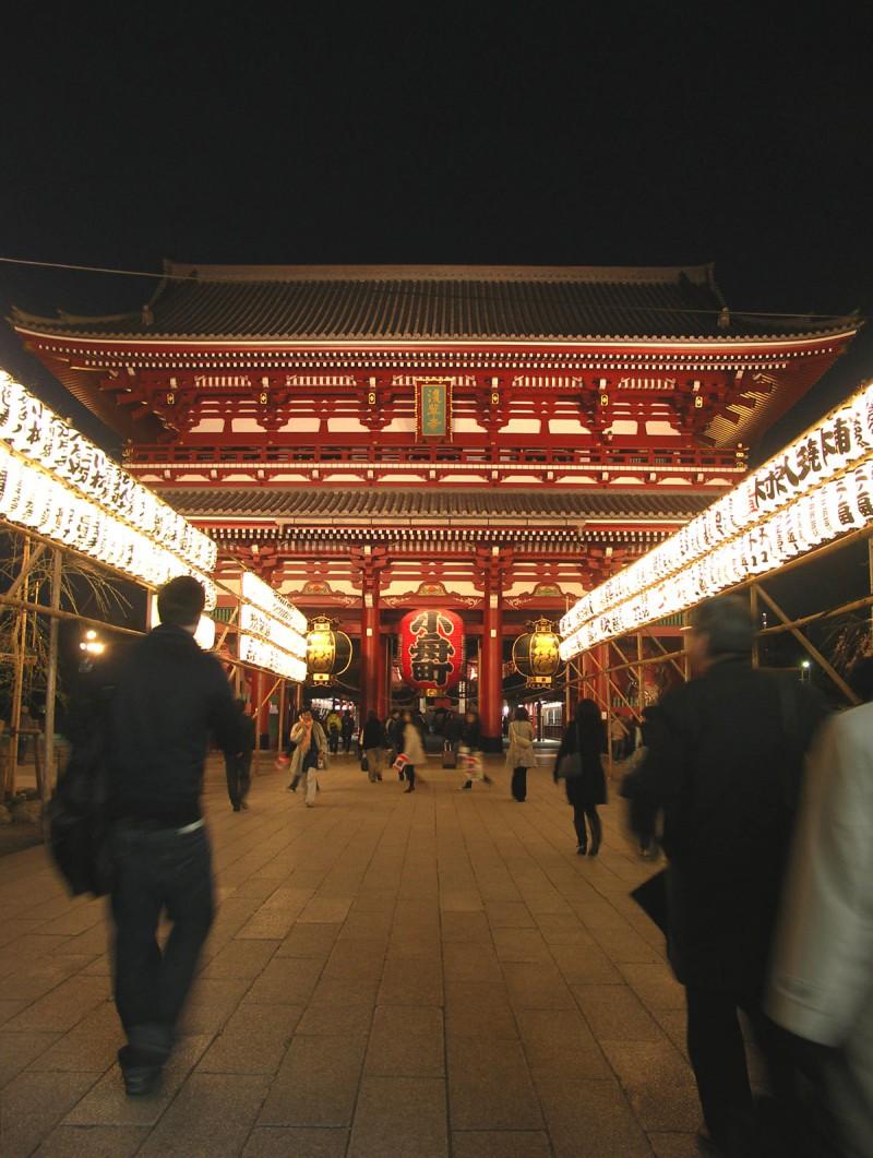 Sensoji Temple, Asakusa, Tokyo