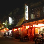 Small-drinking-establishments-in-Asakusa