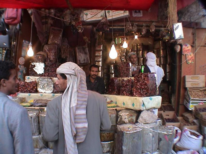 Souqs in Sanaa