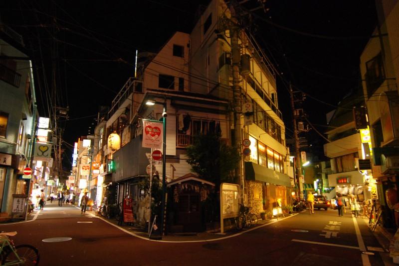 South shopping street in Shimokitazawa, Tokyo