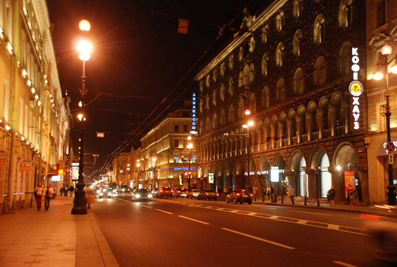 Streets of St. Peterburg